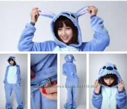 Кигуруми Стич теплая пижама kigurumi К005