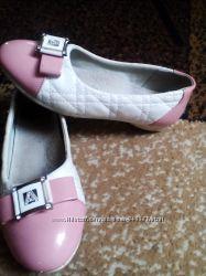 Очень нарядные туфли балетки