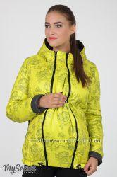 Куртка для беременных, демисезонная, салатовая