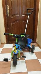 Дитячий велосипед Puky Cat 1s blue/kiwi 2260