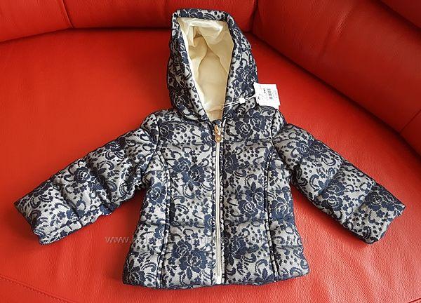 Нова курточка OVS Італія, на 12-18 міс, ріст 80