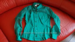 Шовкова оригінальна блузка Nara Camicie, розмір М 2