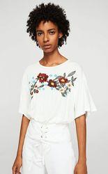 Нова блуза з вишивкою Mango, р. S