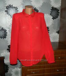 Блуза красная нарядная Vero Moda M 38 10 44