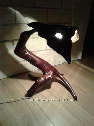 Продам деревянный светильник