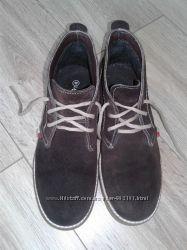 Ботинки La Pinta замшевые на шнурках