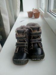 Шкіряні чобітки на цегейці