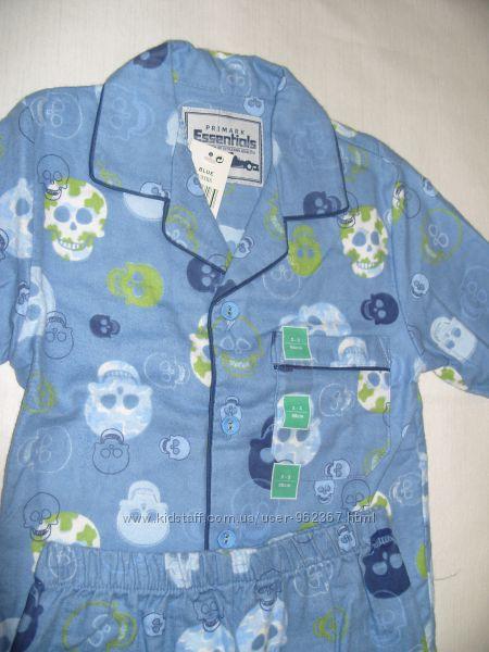 Хлопчача байкова піжама 2-3 роки  PRIMARK 100 котон