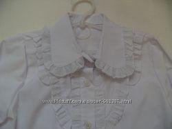 Нові дівчачі шкільні блузки. Розміри 134 см, 146см