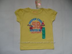 Красиві дівчачі футболки на короткий рукав. Розміри 2-3р, 4-5р, 5-6р, 6-7ро