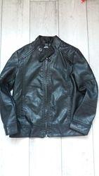 Шкіряна курточка для дівчинки 6 р. 116см