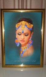 картина бисером Восточная женщина