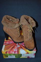 Ботинки зимние замшевые Braska 38 размер