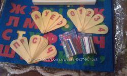 Букви, цифри, палички - для підготовки до школи