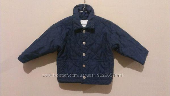 стеганая деми куртка S. Oliver, на 1, 5-2годика