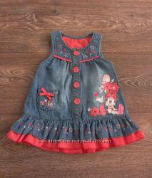 Продам очень красивое фирменное джинсовое платье Disney