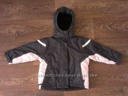 качественная мембранная теплая термо-куртка, р. 98-104, на 3-4 годика