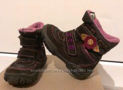 классные итальянские термо-ботиночки, в идеале, р. 21, 13, 5 см