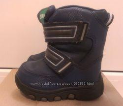 качественные всесезонные термо-ботинки, в идеале, р. 22, 13, 5см