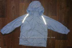 термо-куртка ветровка штормовка, как новая, р. 122-128, на 7-8 лет