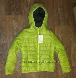 новая стеганая деми куртка, р. S, на 12-14 лет