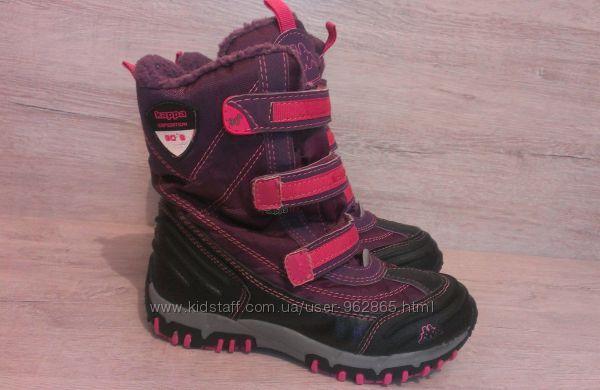 р.32, 21см, термо-ботинки, Kappa