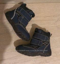 р. 24-25, 16см, деми евро-зима ботинки ТСМ, Германия