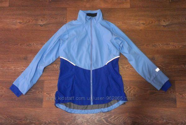 мембранная вело термо-куртка для бега, р. М наш 46