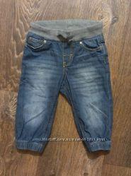 H&M, стильные джинсы на резинке, унисекс, в идеале, до 1, 2 годика