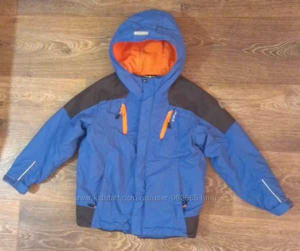 демисезонная термо-куртка, р. 110-116