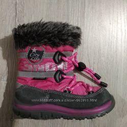 р. 24, 15см, зимние термо-ботинки, Германия, отличные