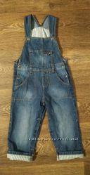 р. 92, шикарный джинсовый комбинезон