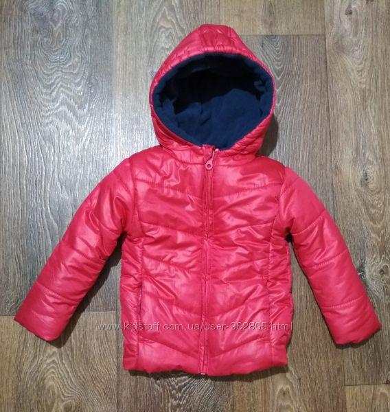 р. 86-92, шикарная термо-куртка для девочки