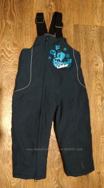 р. 83-96, теплющие зимние термо-штаны полукомбинезон, отличные