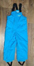 р. 98-104, теплющие зимние термо-штаны полукомбинезон Decathlon, отличные