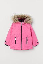 р.104-110, H&M теплая термо-куртка