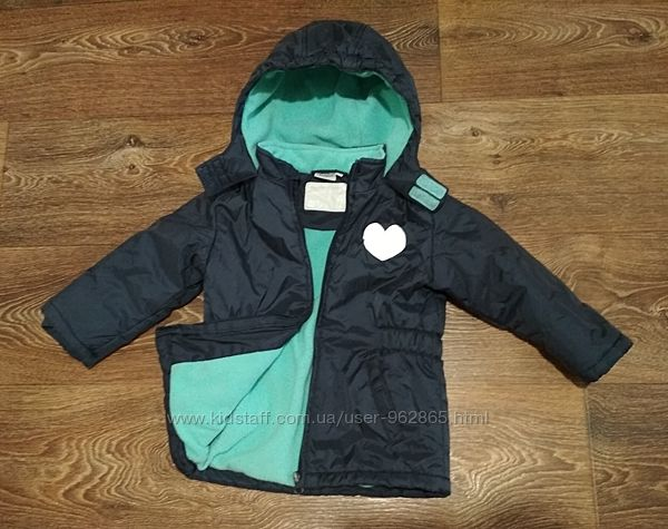 р.98-104, термо-куртка на флисе, отличная