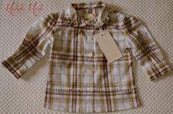 Продается очень красивая рубашка для девочки Gatti Италия. Размер 3-6 мес