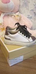 Фирменные кеды,  кожа или демисезонные ботинки
