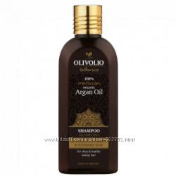 Шампунь Olivolio для всех типов волос , аргана. Эффект с первого применения