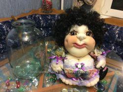 Кукла попик ручной работы