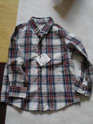рубашка ZARA на мальчика 3-4