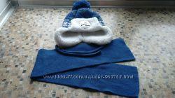 Шапка зимняя  шарф Politano