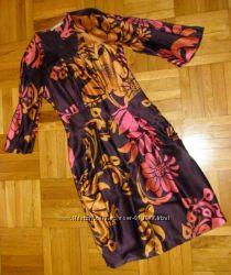 Платье BGN с растительным принтом, размер S