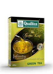 Чай Qualitea зеленый нат. 100г