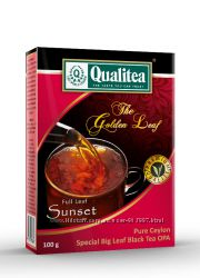 Чай Qualitea чорний Sunset 100г