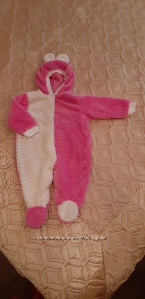 Комбинезон травка для малышки от 6 месяцев