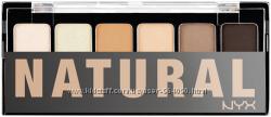 Палитра теней для естественного взгляда NYX the natural shadow palette