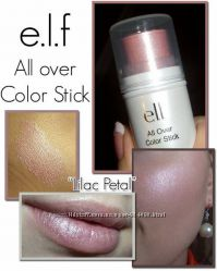 Хайлайтер - румяна для лица e. l. f. All Over Color Stick 3103 Lilac Petal