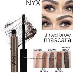 Тушь тинт для бровей NYX tinted brow mascara